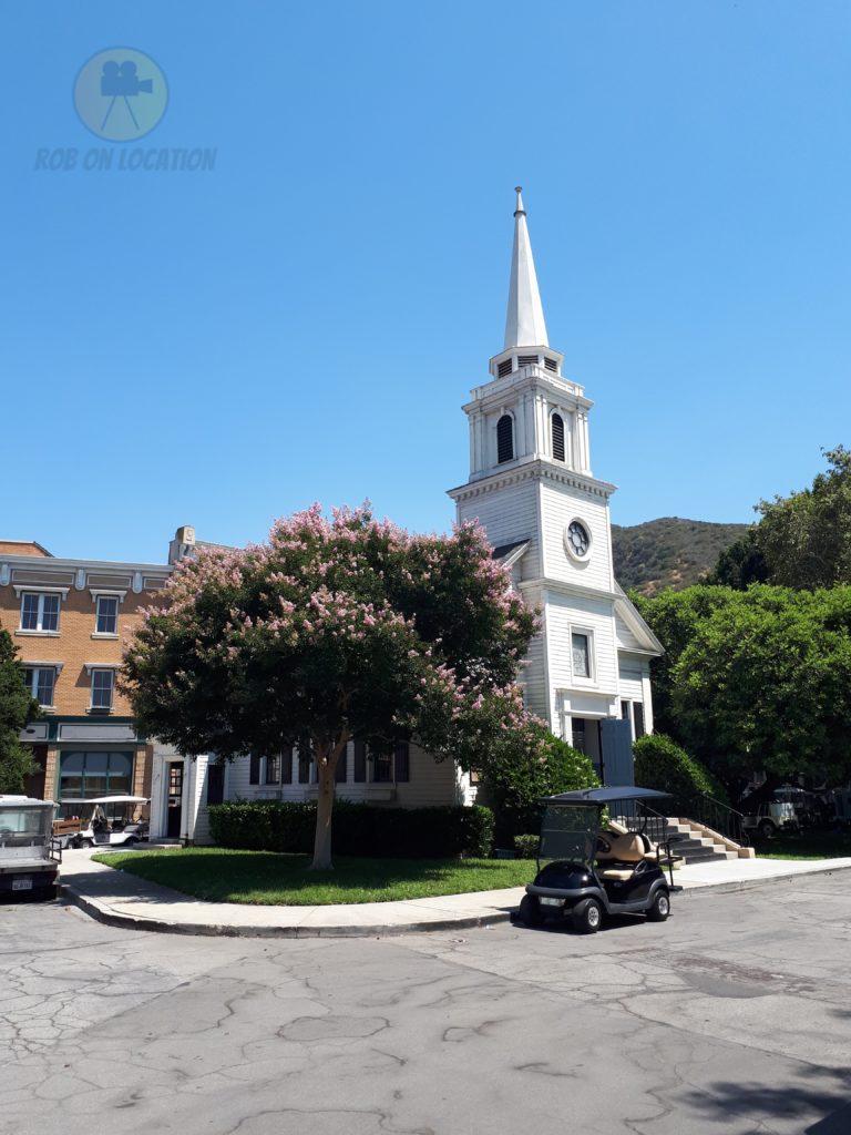 The Waltons Church at Warner Brothers Studios