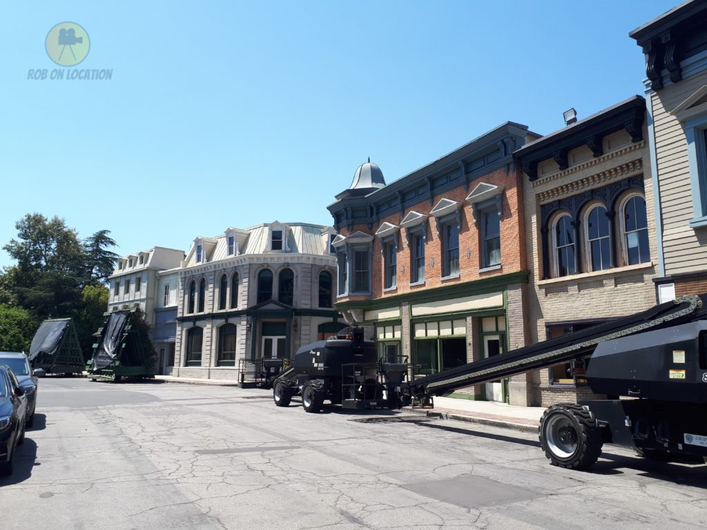 Warner Bros. backlot