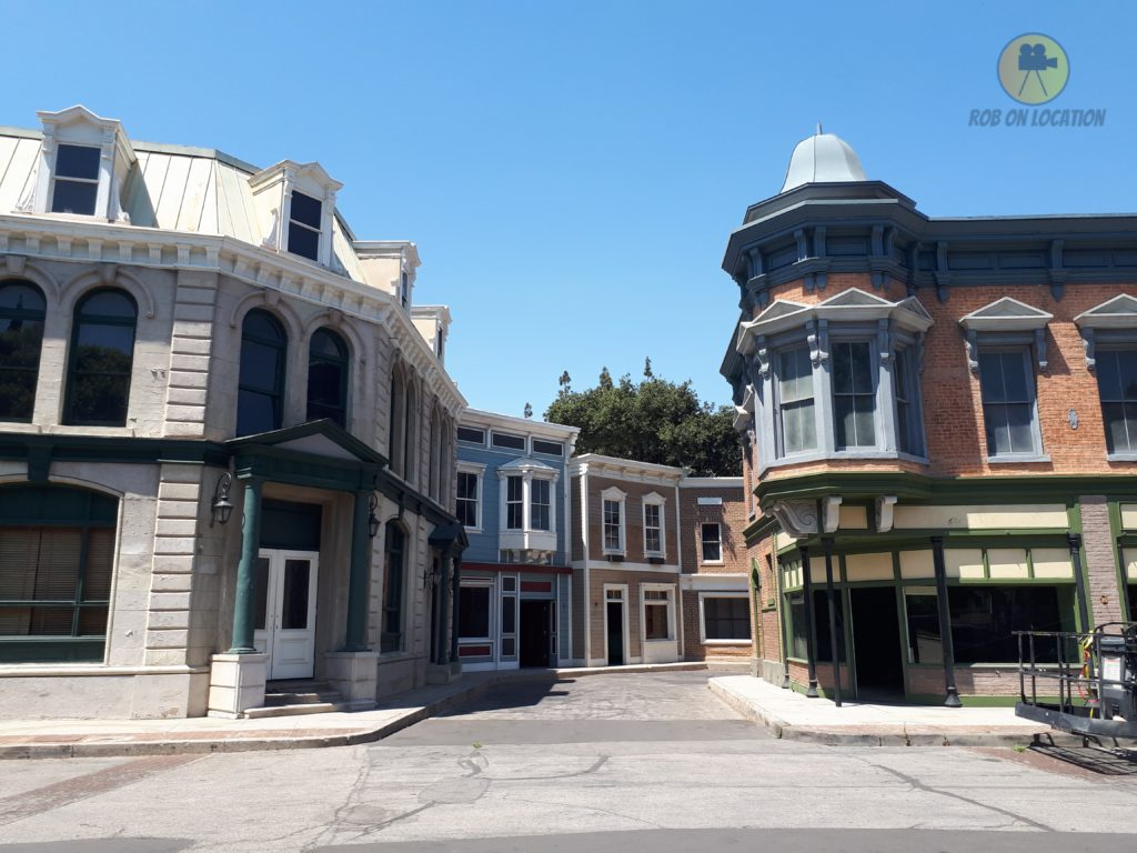 midwest street at Warner Brothers Studios