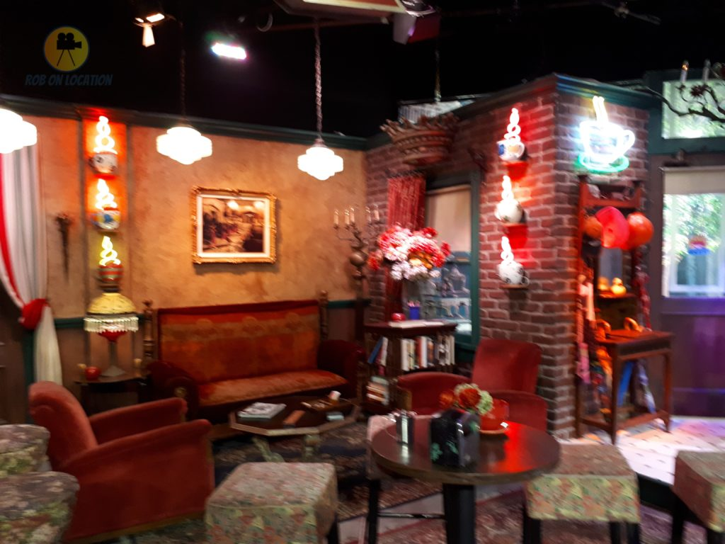 Central Perk set from Friends