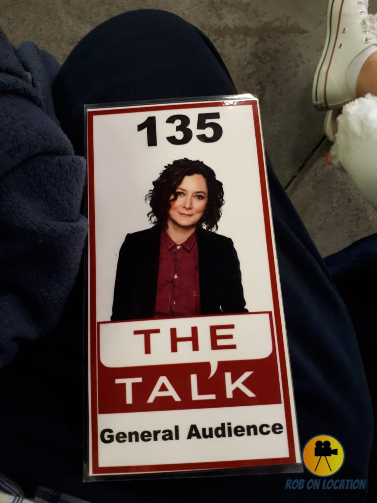 Sara Gilbert on our ticket
