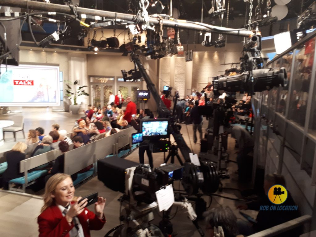 The Talk studio set
