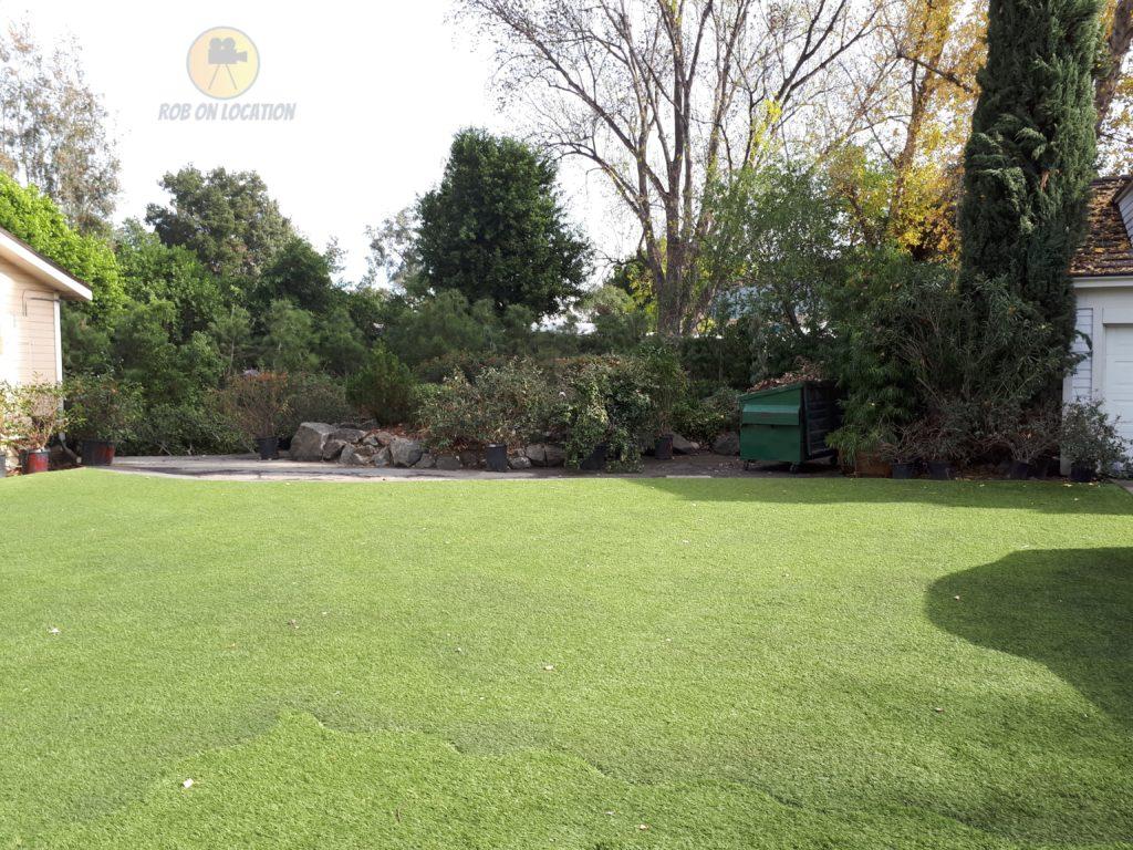 garden lot at CBS Radford