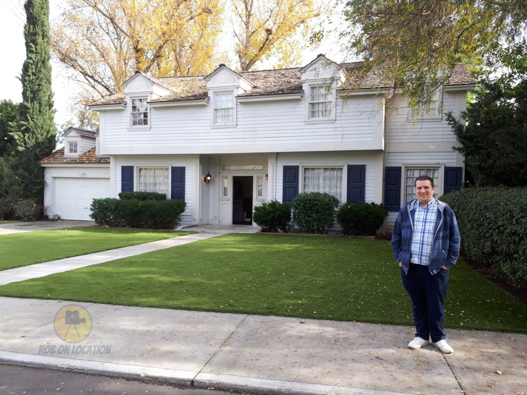 me at the American Housewife house