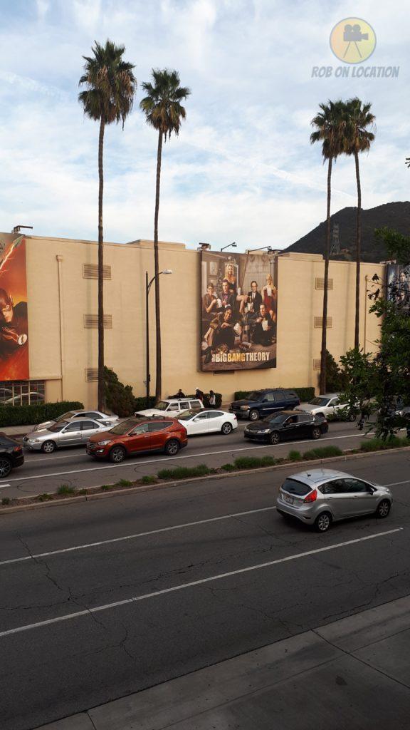 The Big Bang Theory at Warner Bros. Studios
