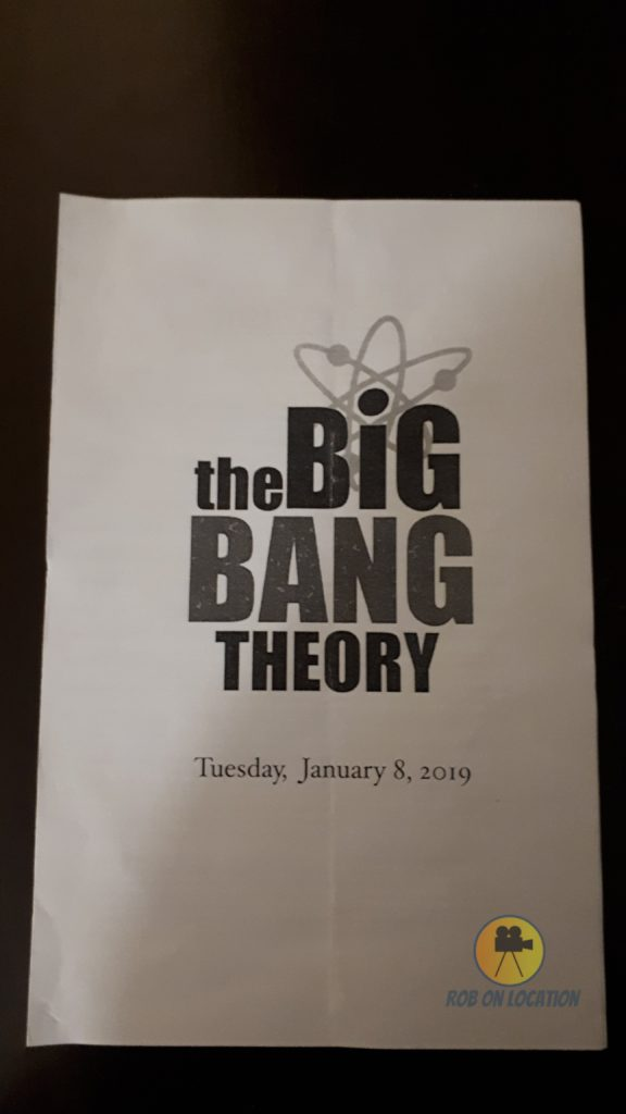 The Big Bang Theory program