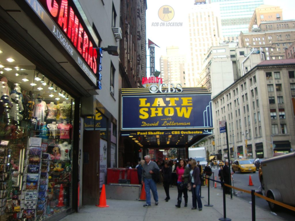 Late Show with David Letterman on Broadway