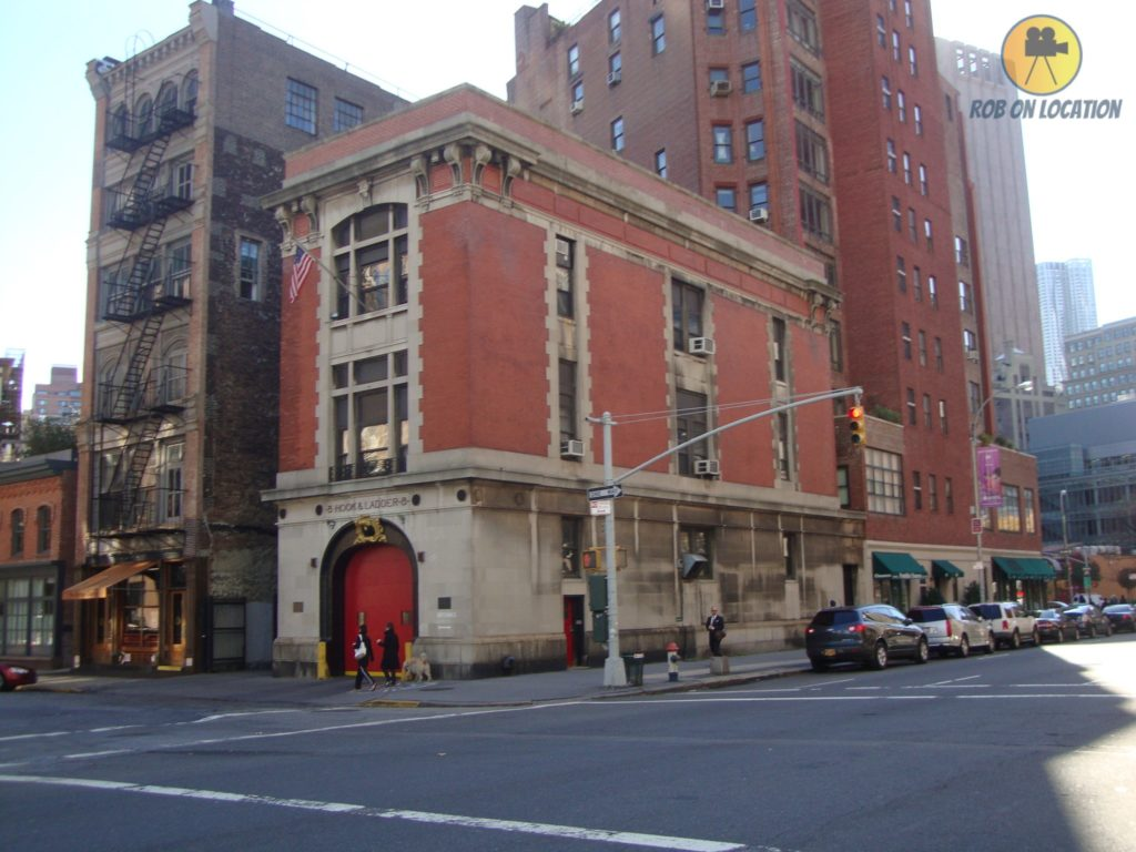 Ghostbusters building