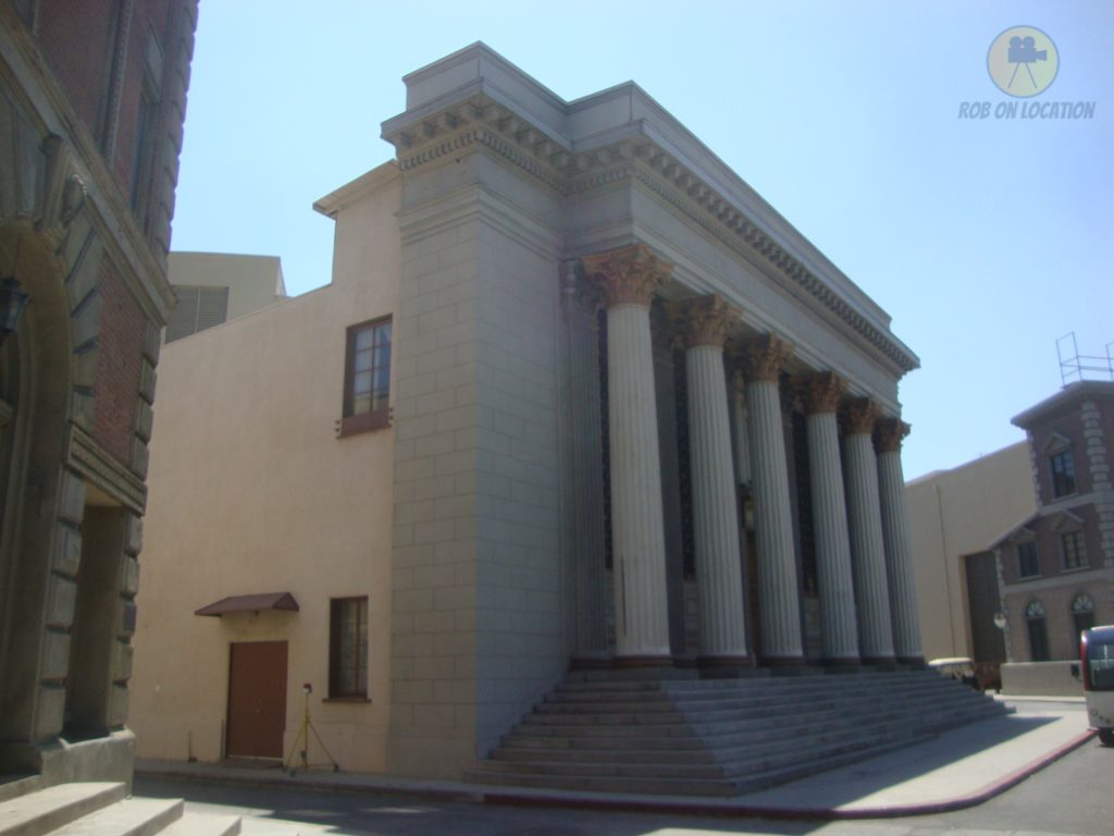 Warner Brothers courthouse