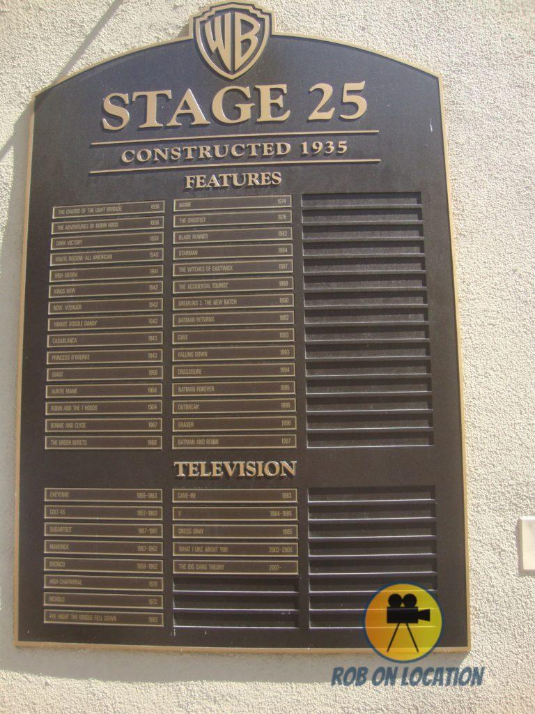 Stage 25 at Warner Bros. Studios