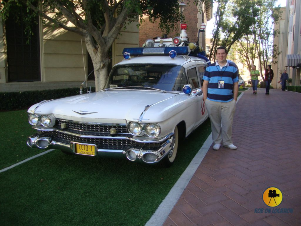 me with Ecto-1