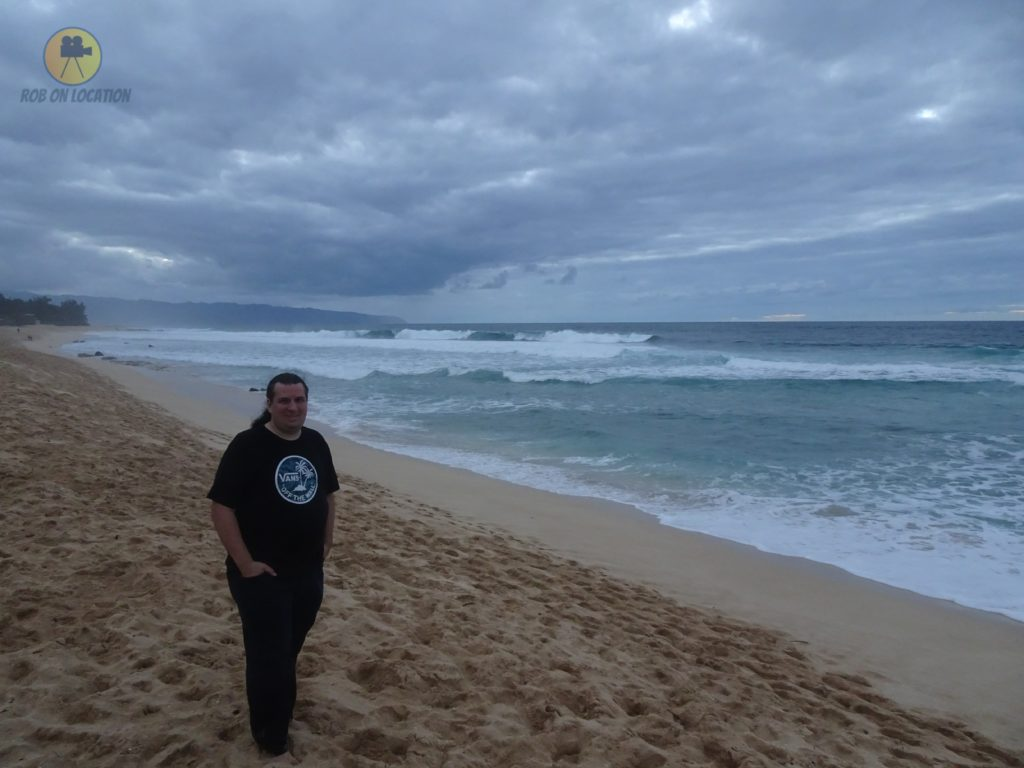 me at the Banzai Pipeline