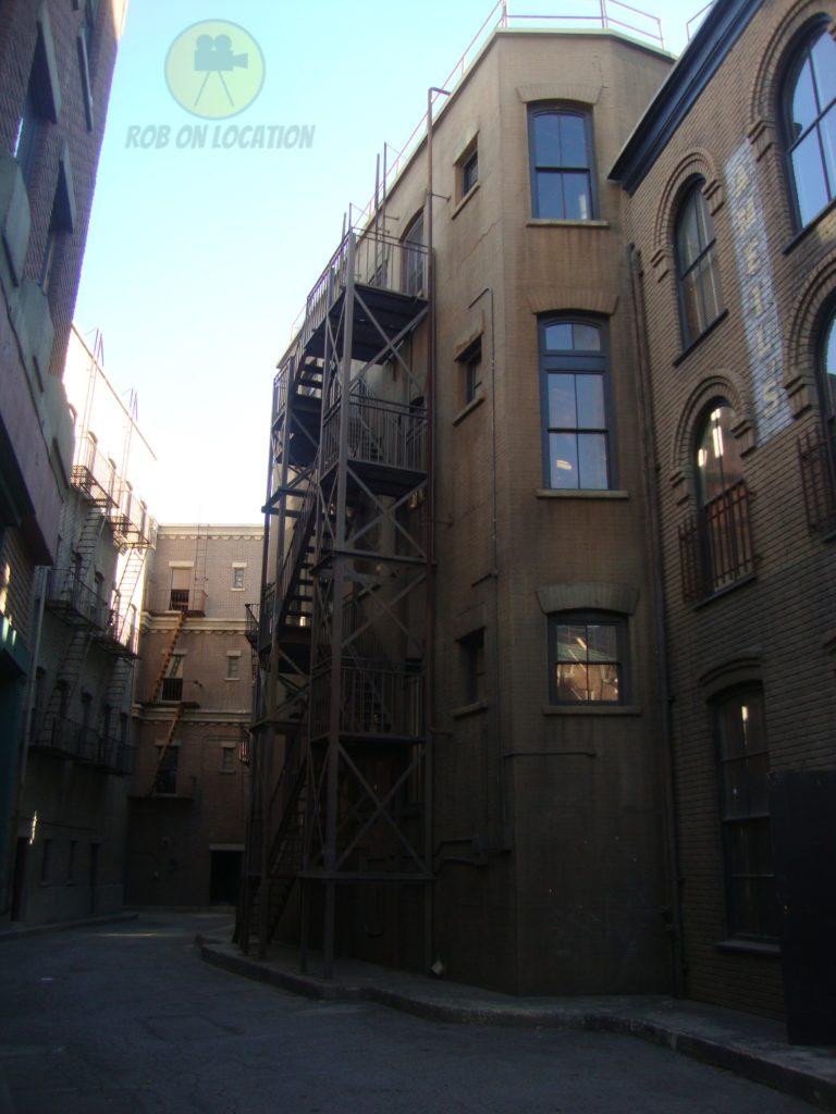 New York backlot at Warner Brothers Studios