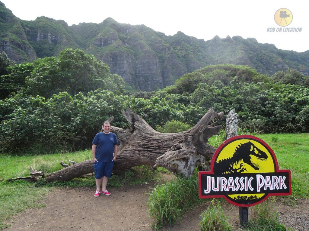 Jurassic Park log