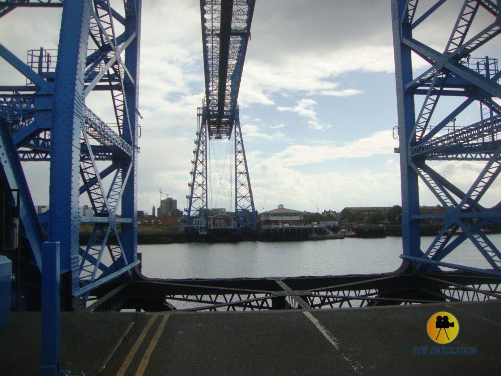 Tees Transporter Bridge from Billy Elliot