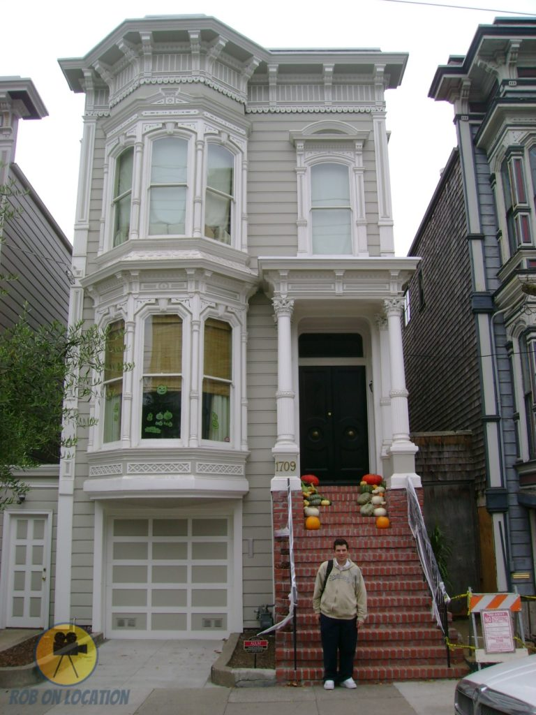 me at the Full House house