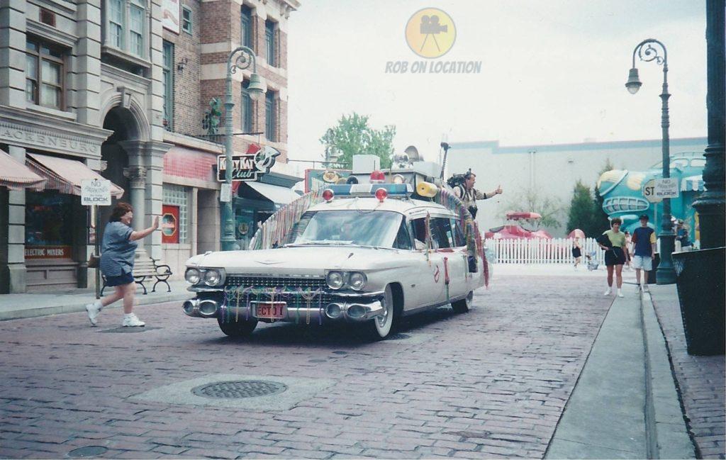 Ecto-1 at Universal Studios