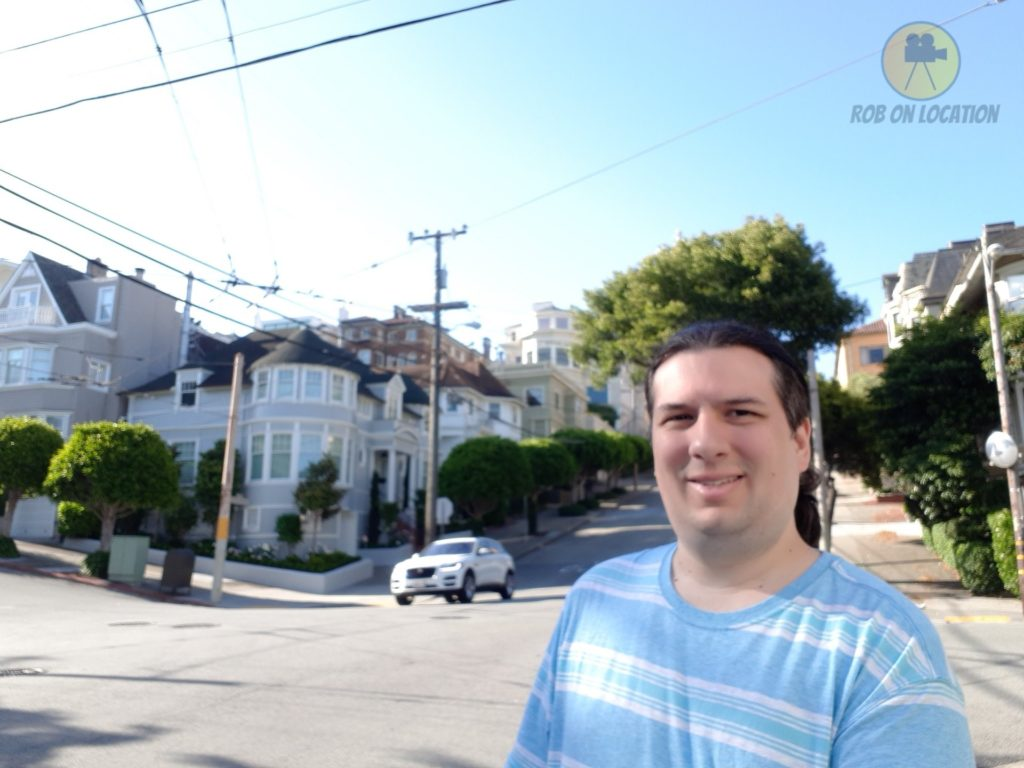 me at the house in San Francisco
