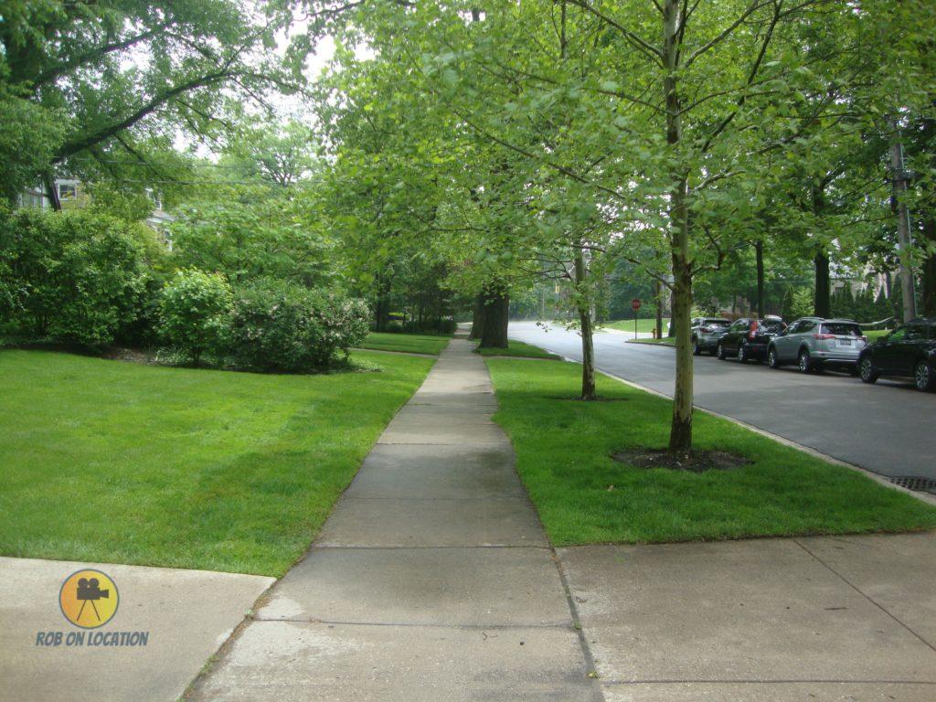 Home Alone sidewalk