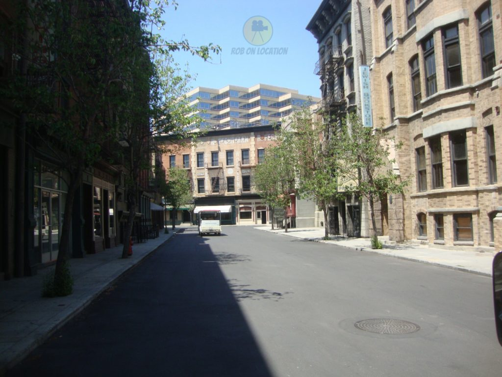Warner Bros backlot