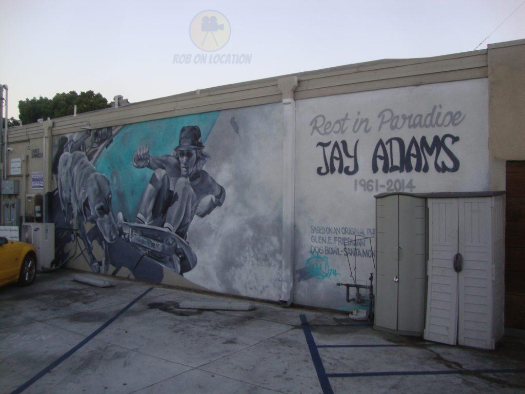 Jay Adams memorial mural