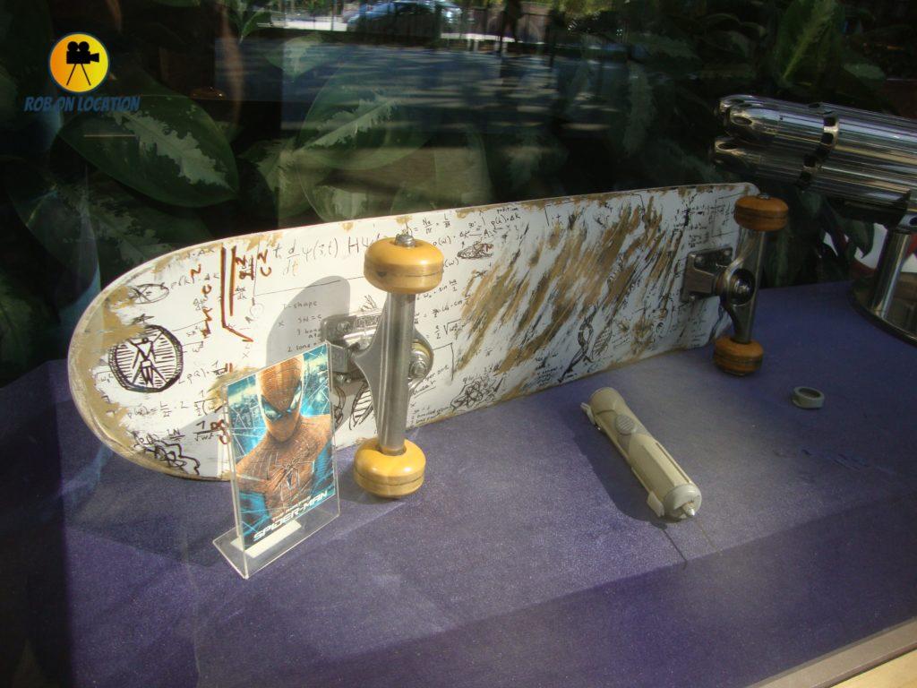 Andrew Garfield Spiderman Skateboard
