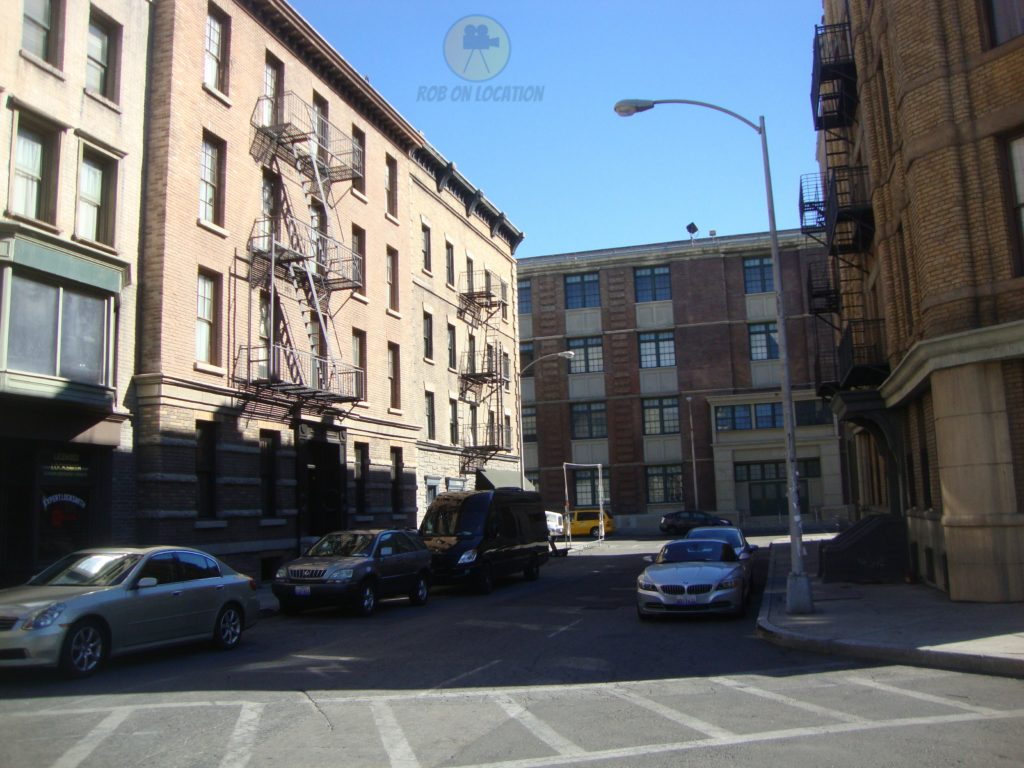 Paramount Pictures backlot