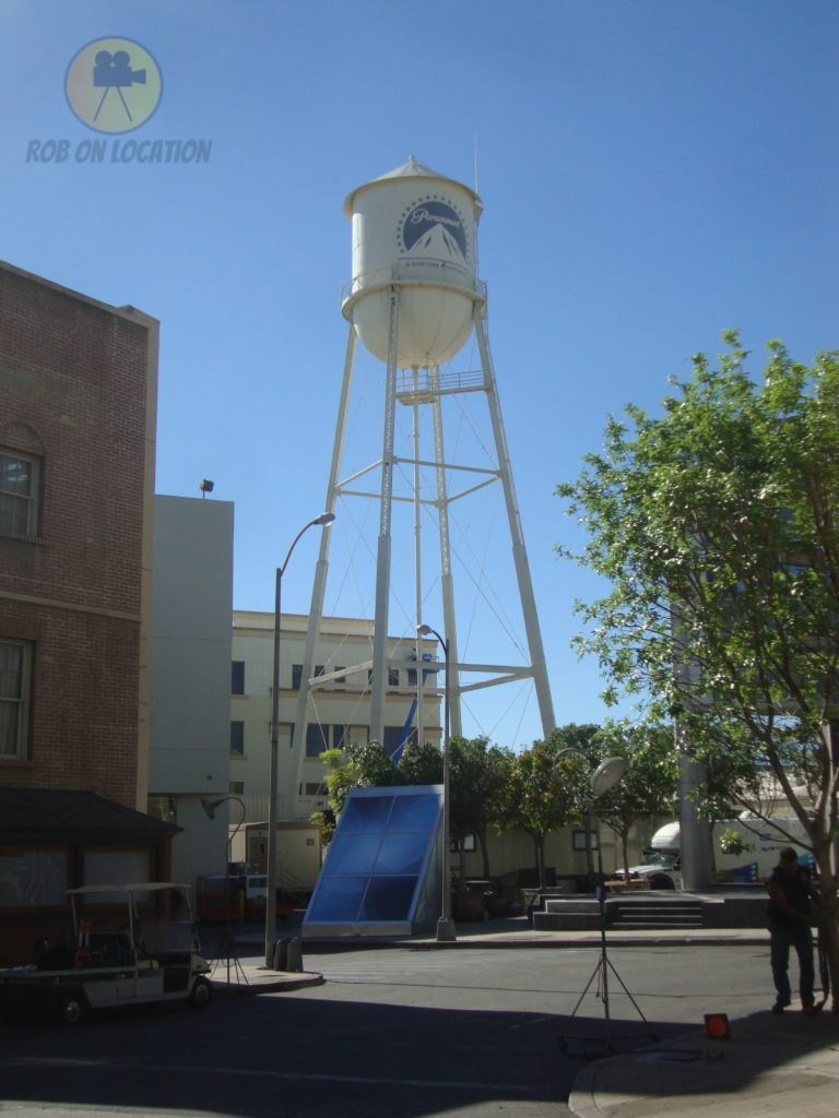 Paramount Pictures watertower