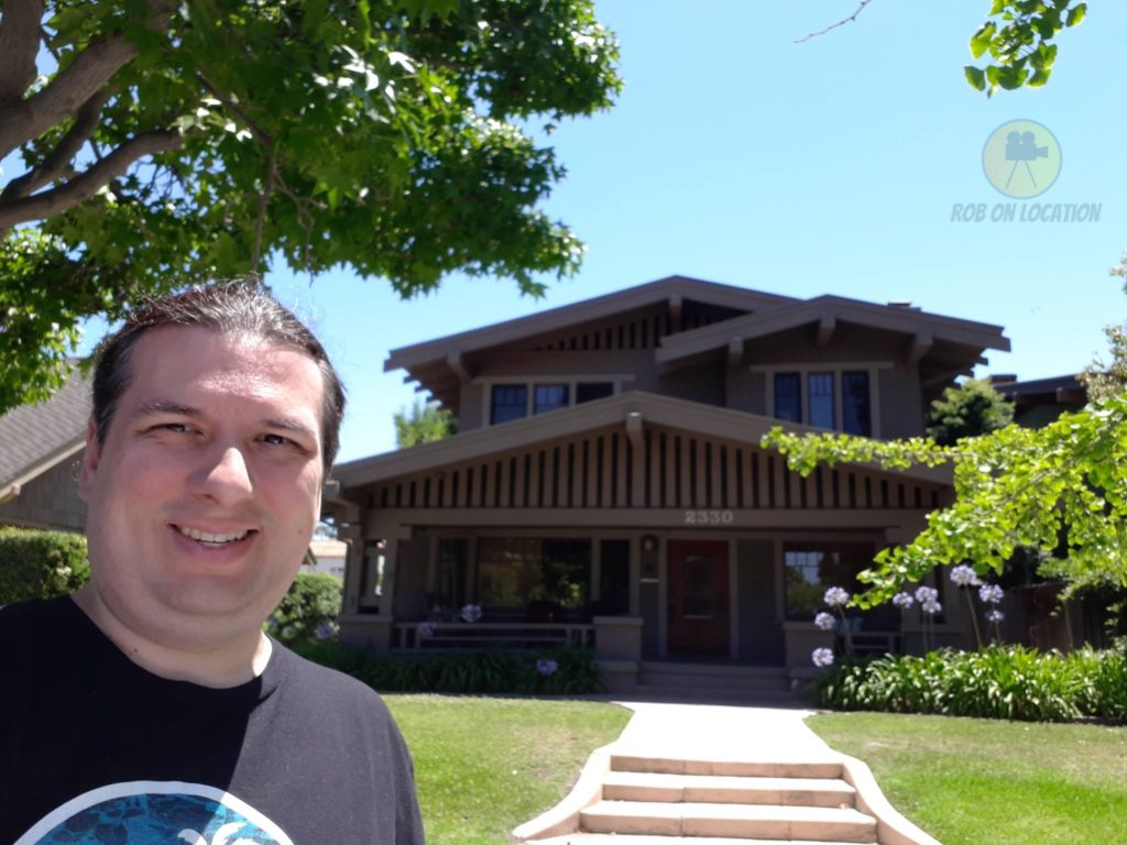 Me at the house from The Fosters