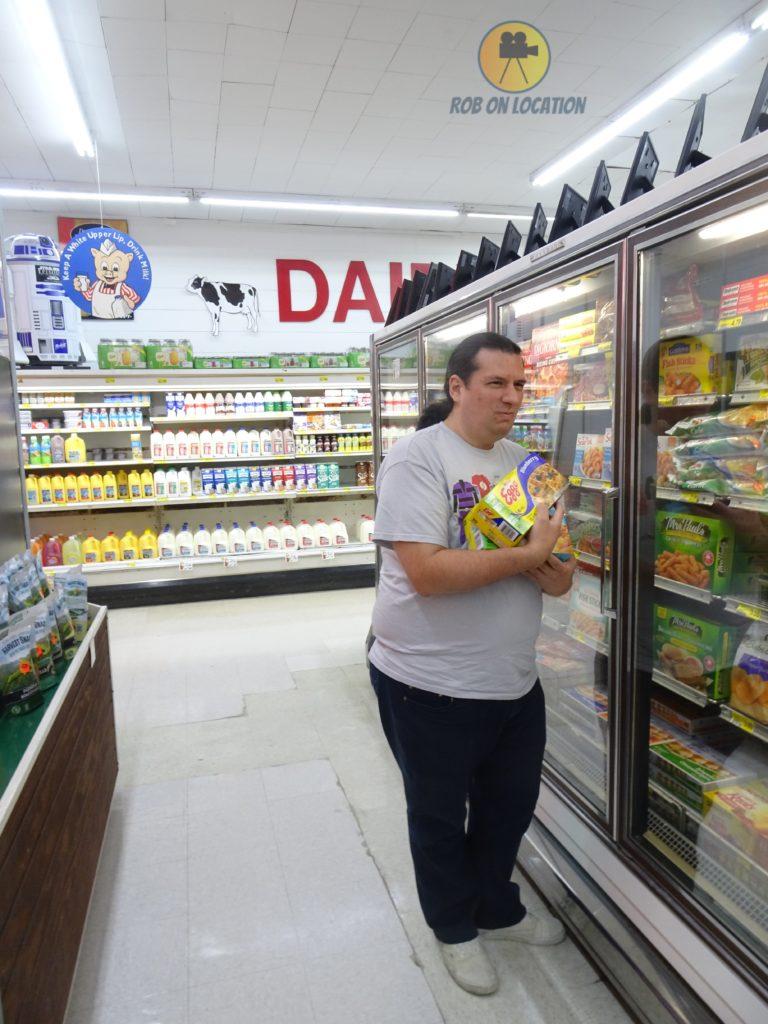 buying Eggos at the Stranger Things Store