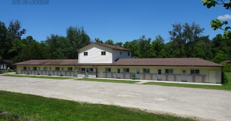 Rosebud Motel location