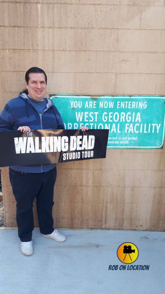 The Walking Dead Studios tour
