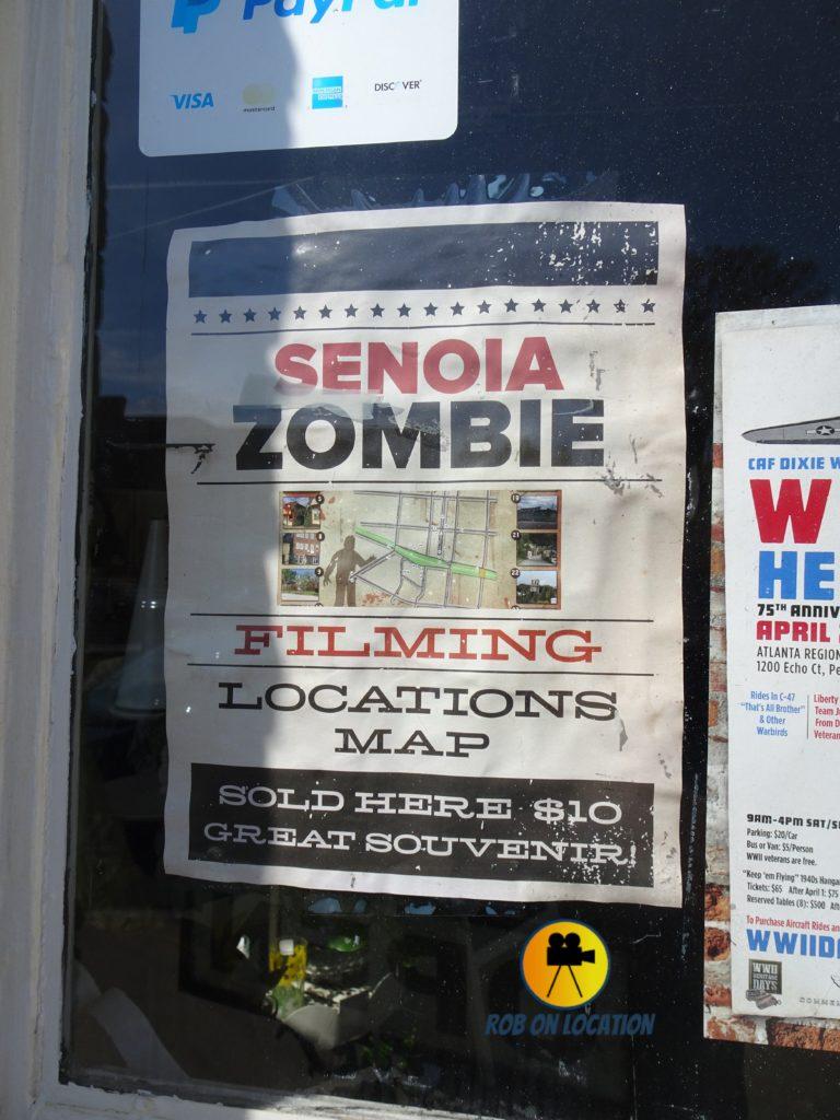 Senoia Zombie Map