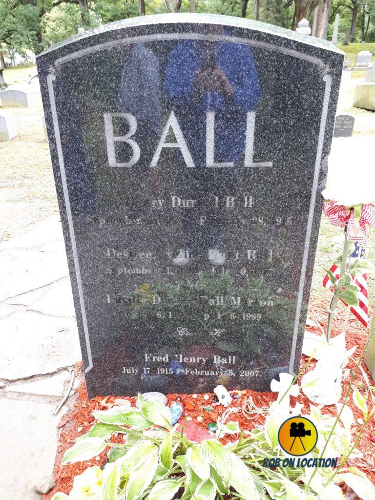 Lucille Ball grave