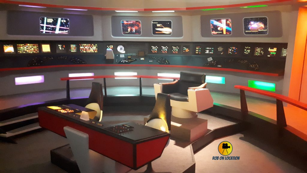 Star Trek Set Tour - The Enterprise Bridge