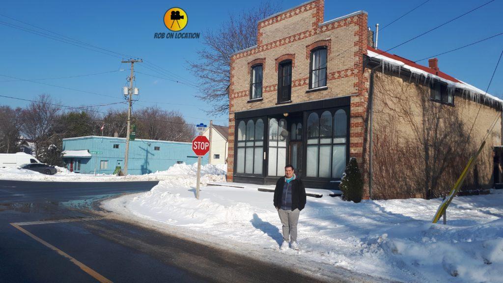 Schitt's Creek cafe