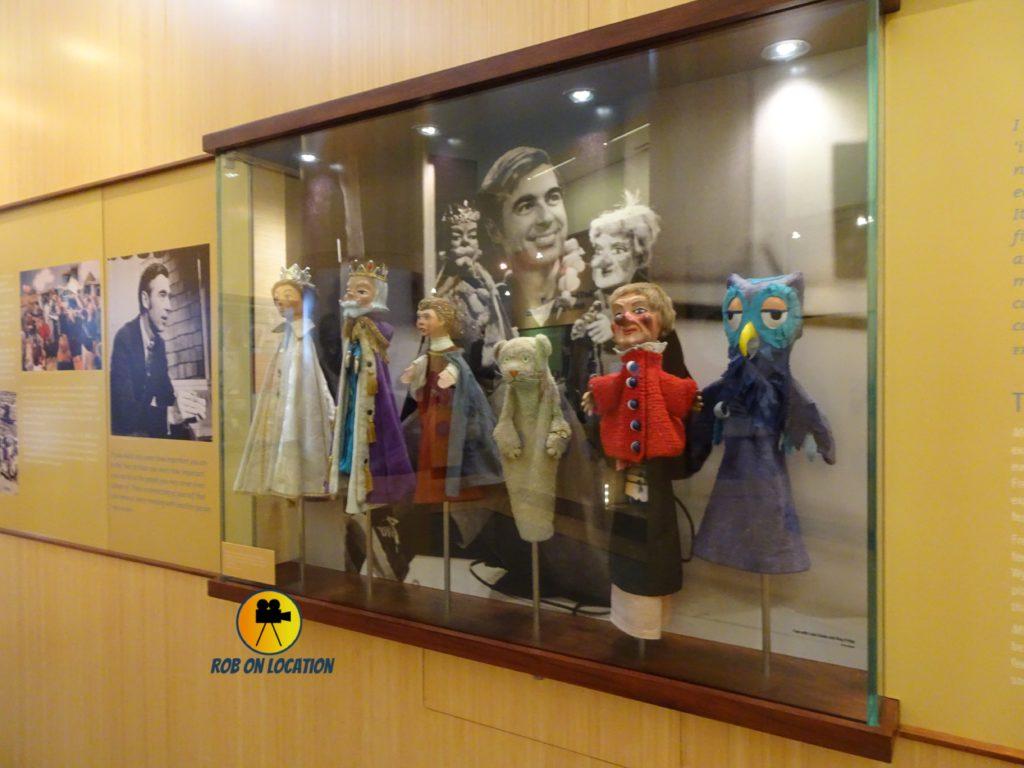 Mister Rogers Neighborhood puppets