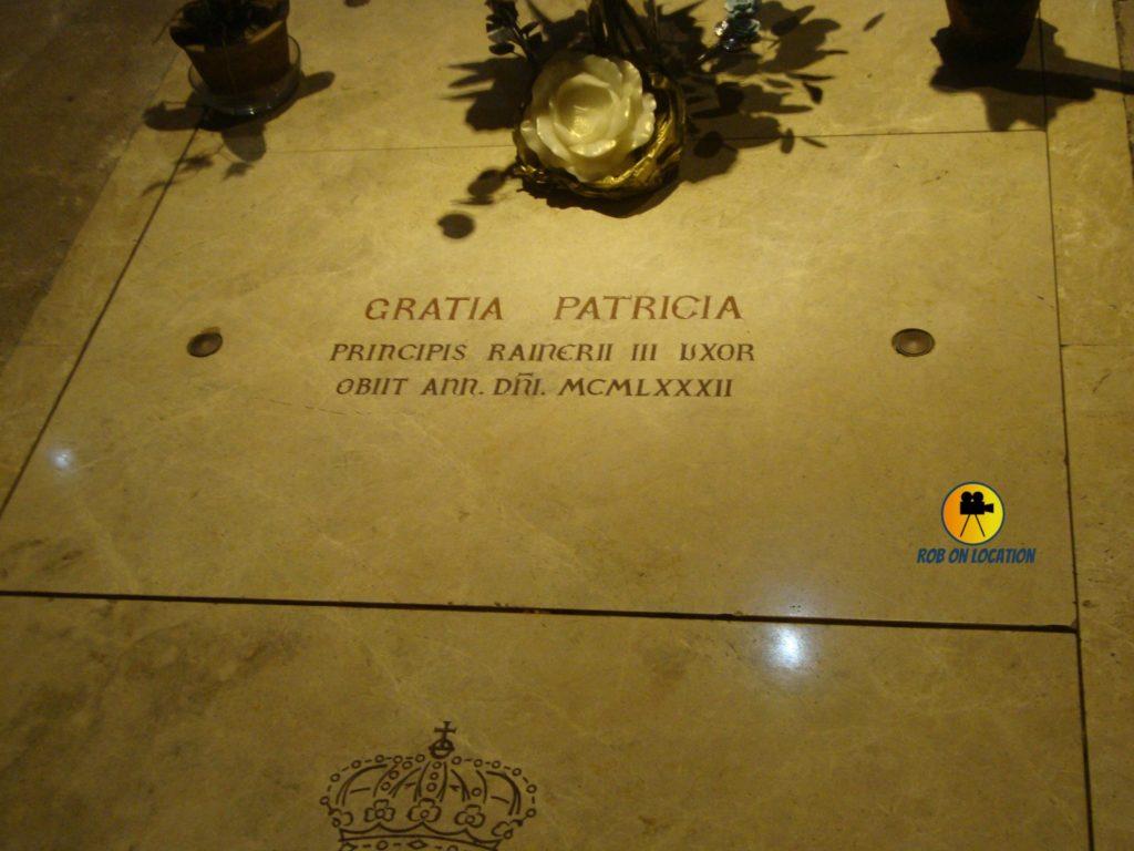 Grace Kelly grave