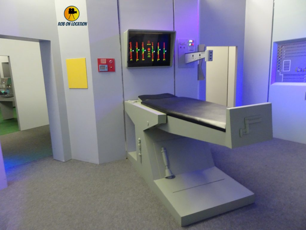 Star Trek set - Enterprise sickbay