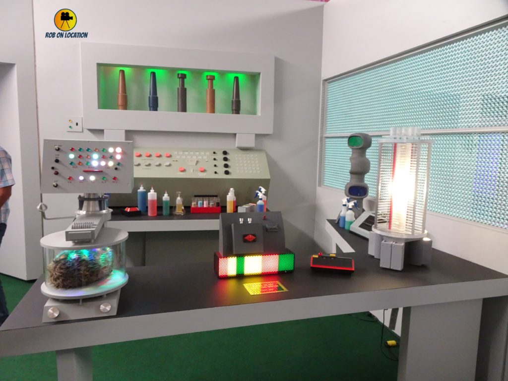 Star Trek set tour - science lab