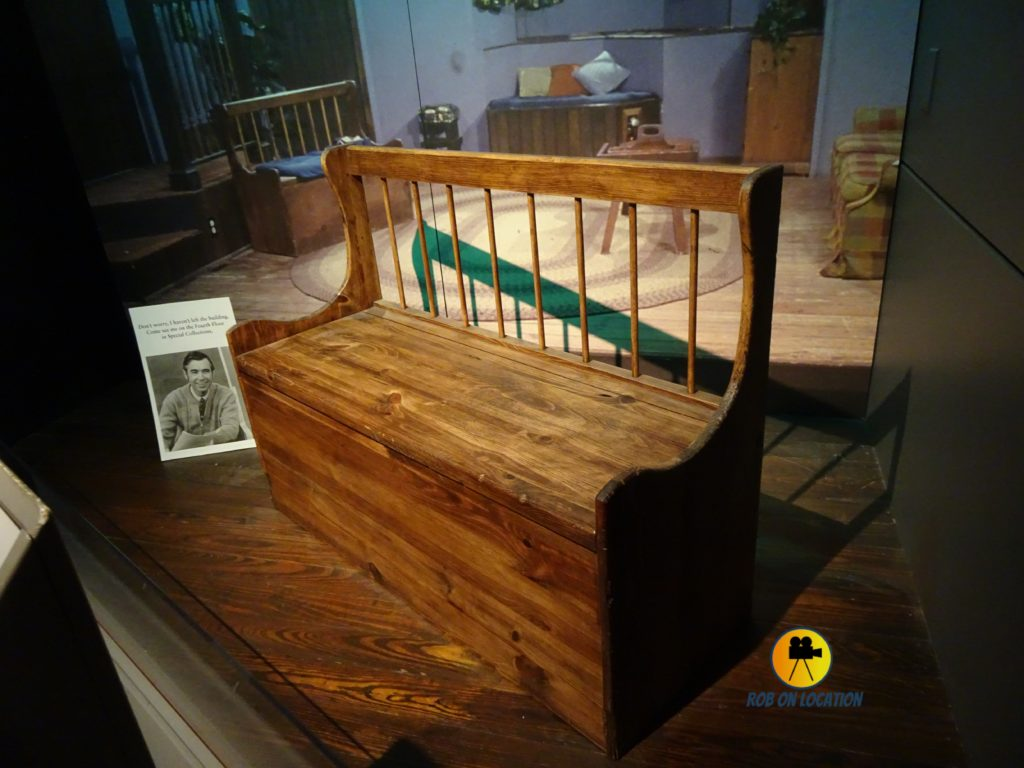 Mister Rogers bench