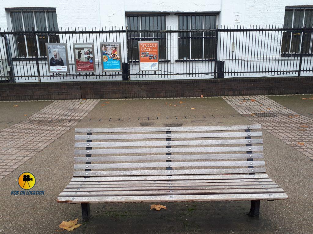 Love Actually bench