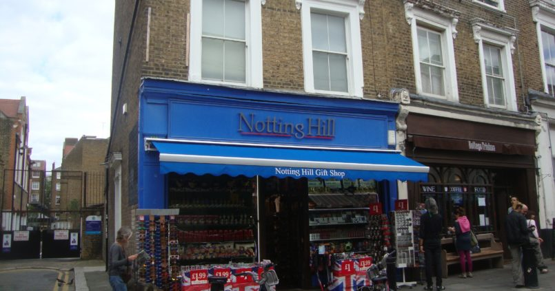 Notting Hill - The Travel Book Store