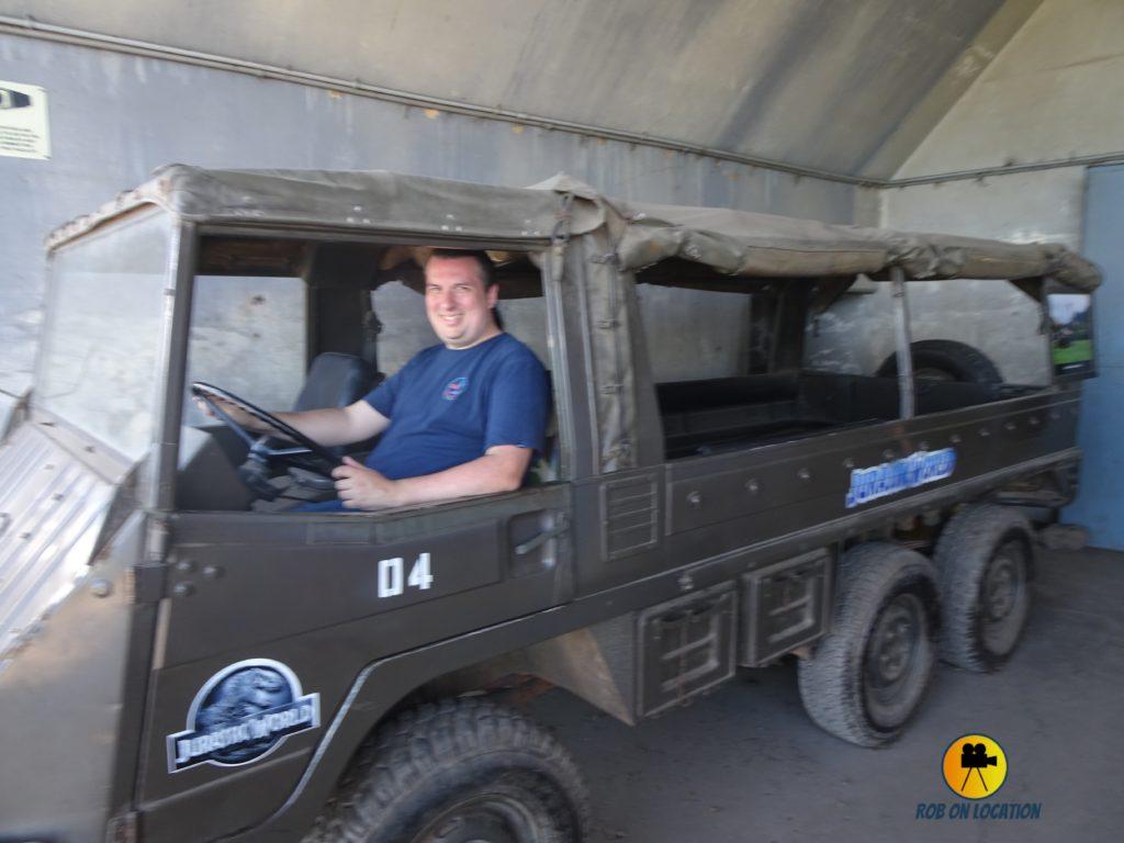 Jurassic World vehicle