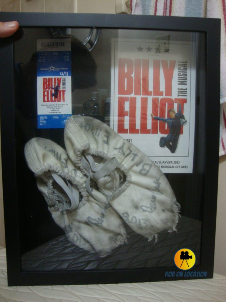 Billy Elliot ballet shoes Ben Cook