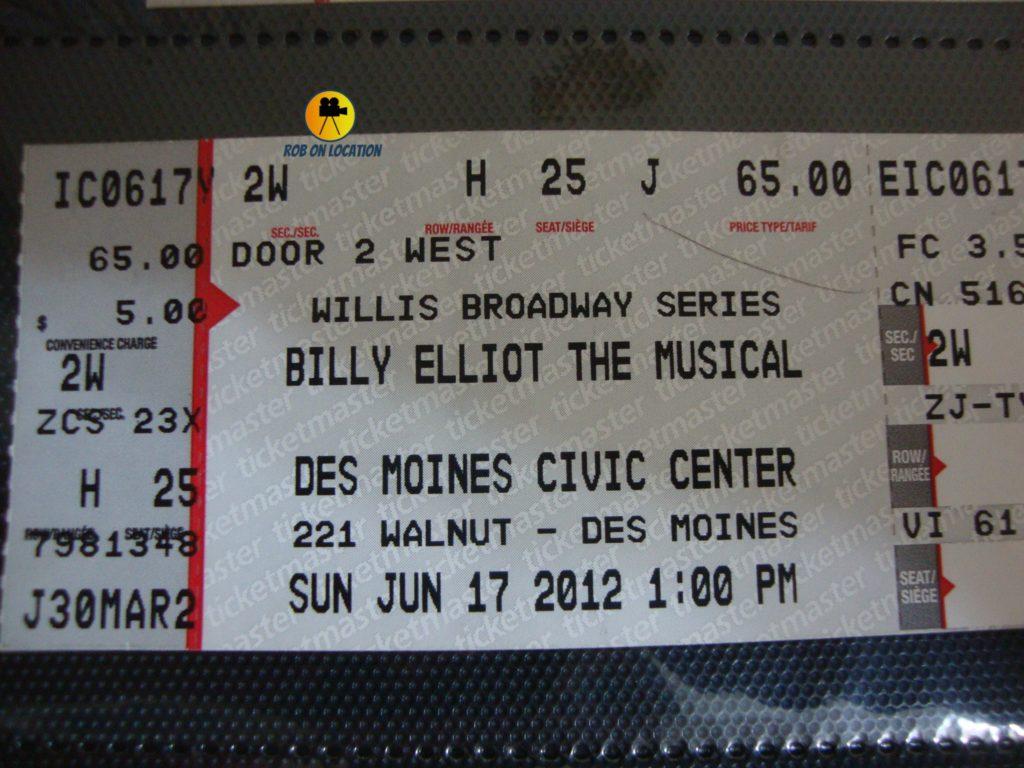 Billy Elliot Des Moines
