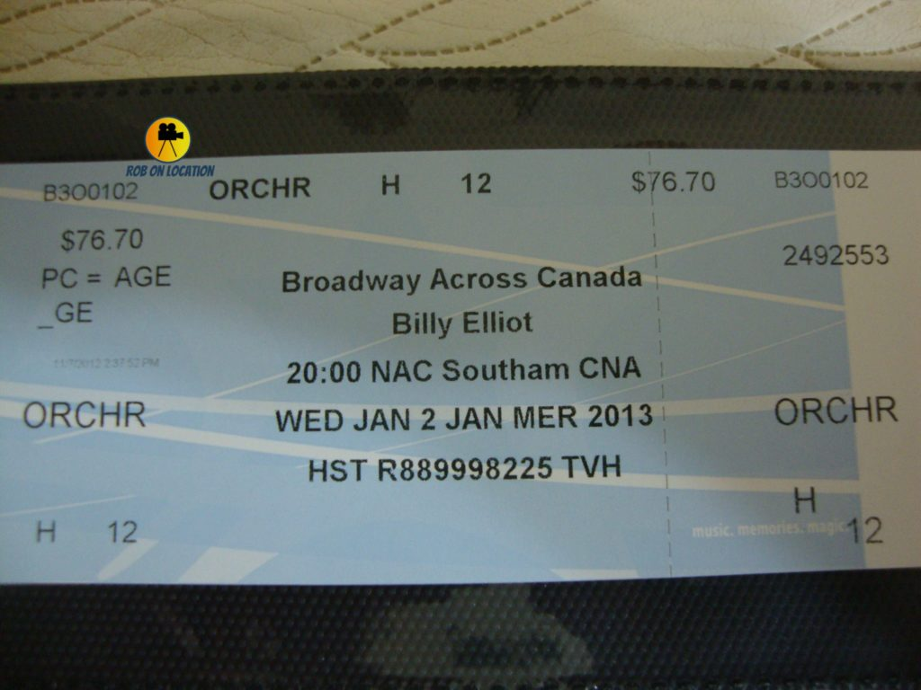 Billy Elliot The Musical Ottawa