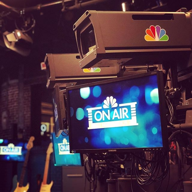 On Air at NBC Studios
