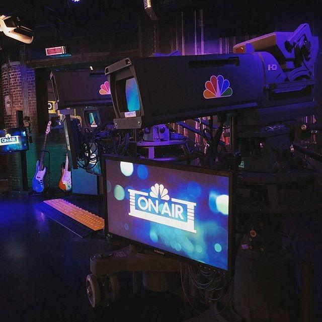 On Air at NBC Studios