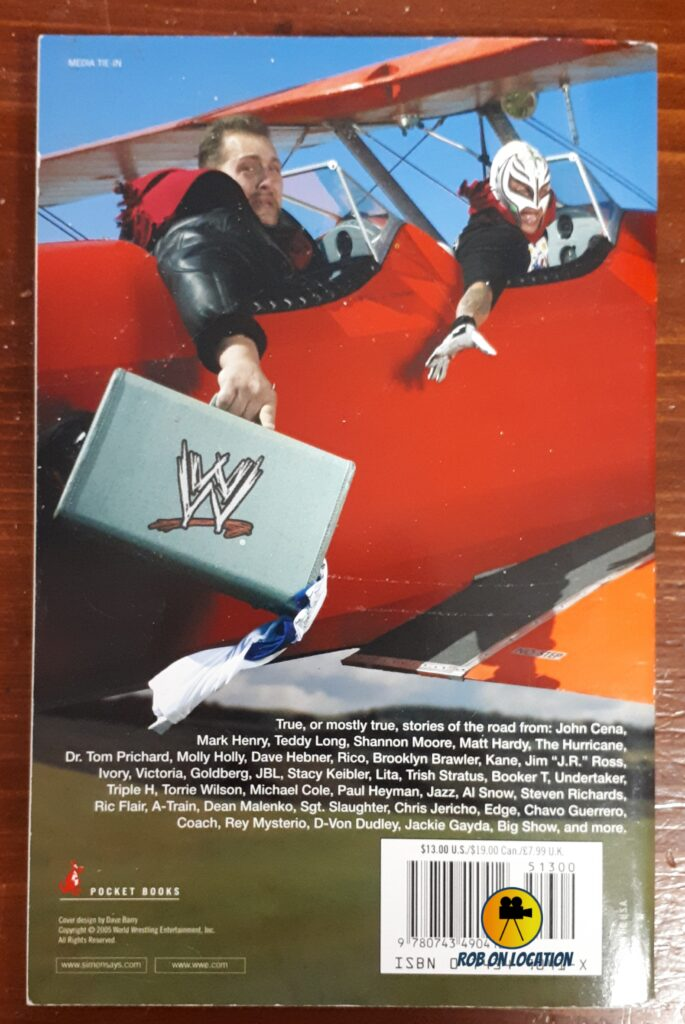 Are We There Yet?  WWE Travel books